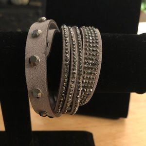 Wrap bracelet or necklace or boot wrap